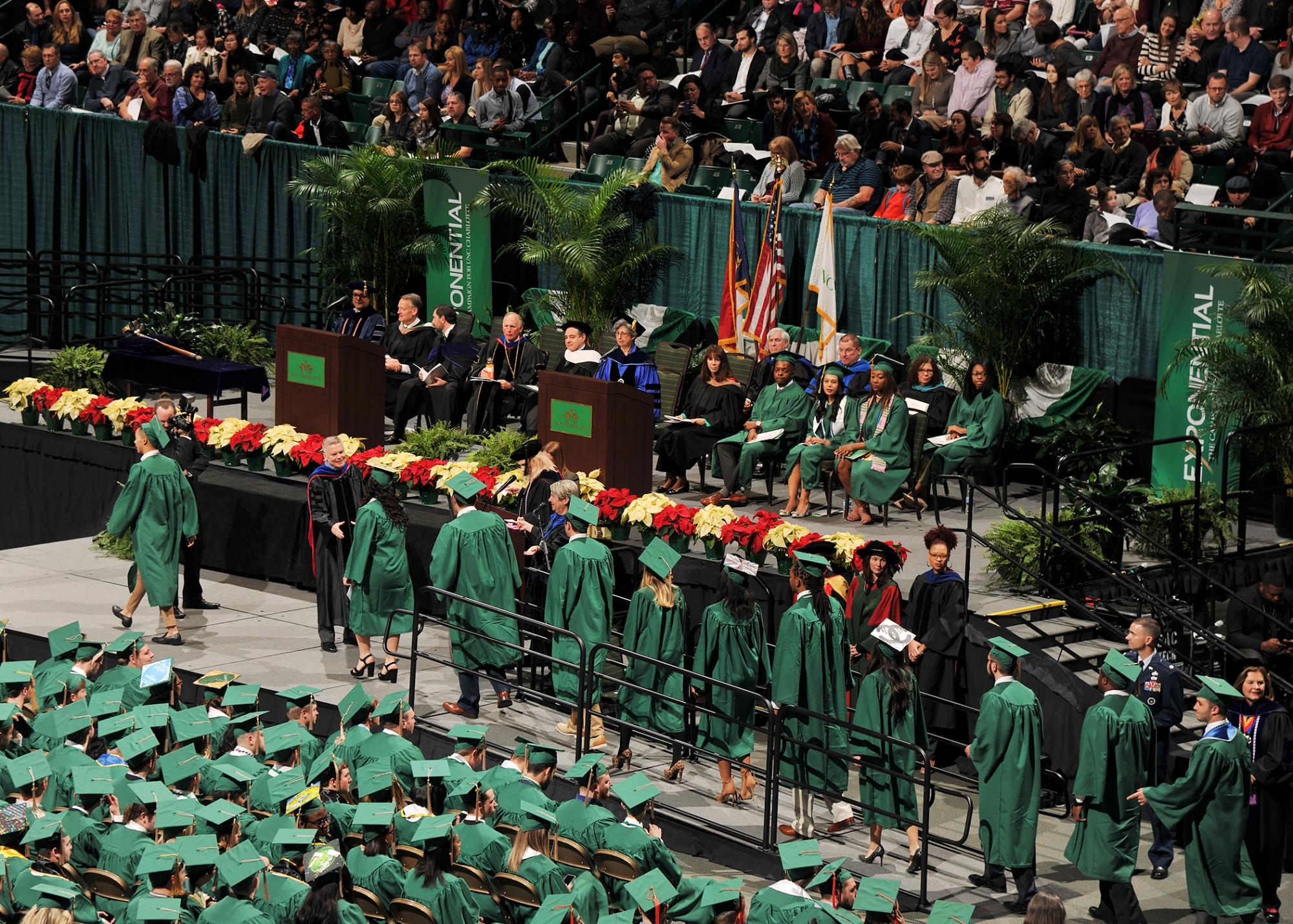 UNC Charlotte Graduation
